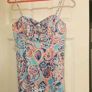 Lilly Pulitzer Spaghetti Strap Floral Dress